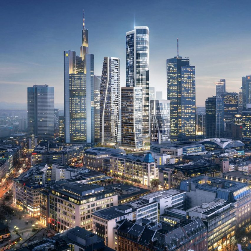 Frankfurt proposal by UNStudio