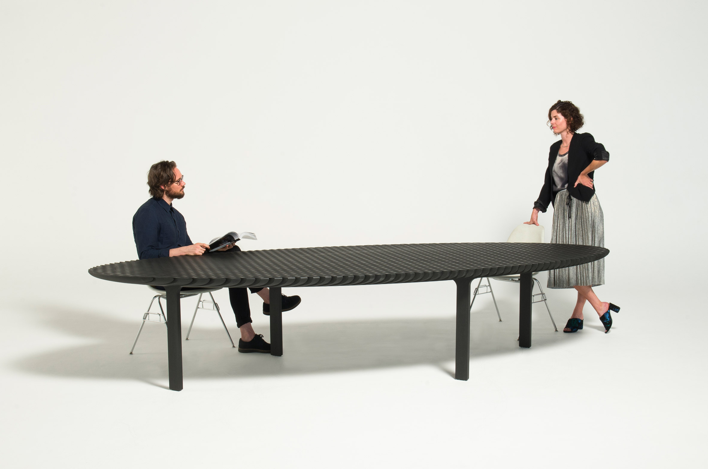 Friction table by Heatherwick Studios