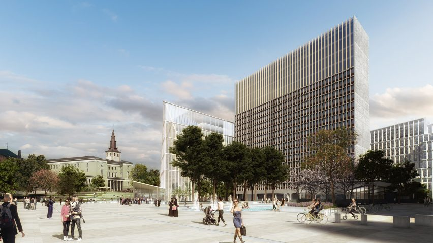 Winning Design Chosen For Norwegian Government Headquarters Following 2011  Terrorist Attack