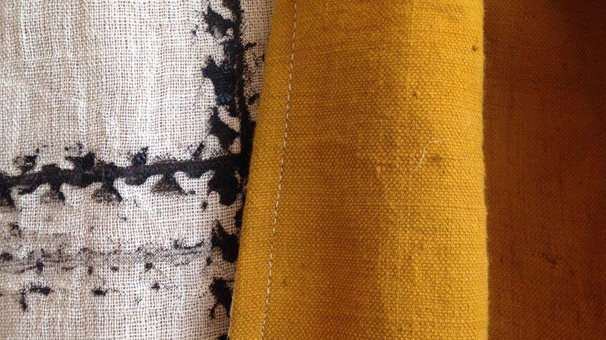 Graviky Ink scarves by Dutch designer Kelly Gijsen