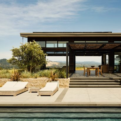 House in Healdsburg by Arterra Landscape Architects