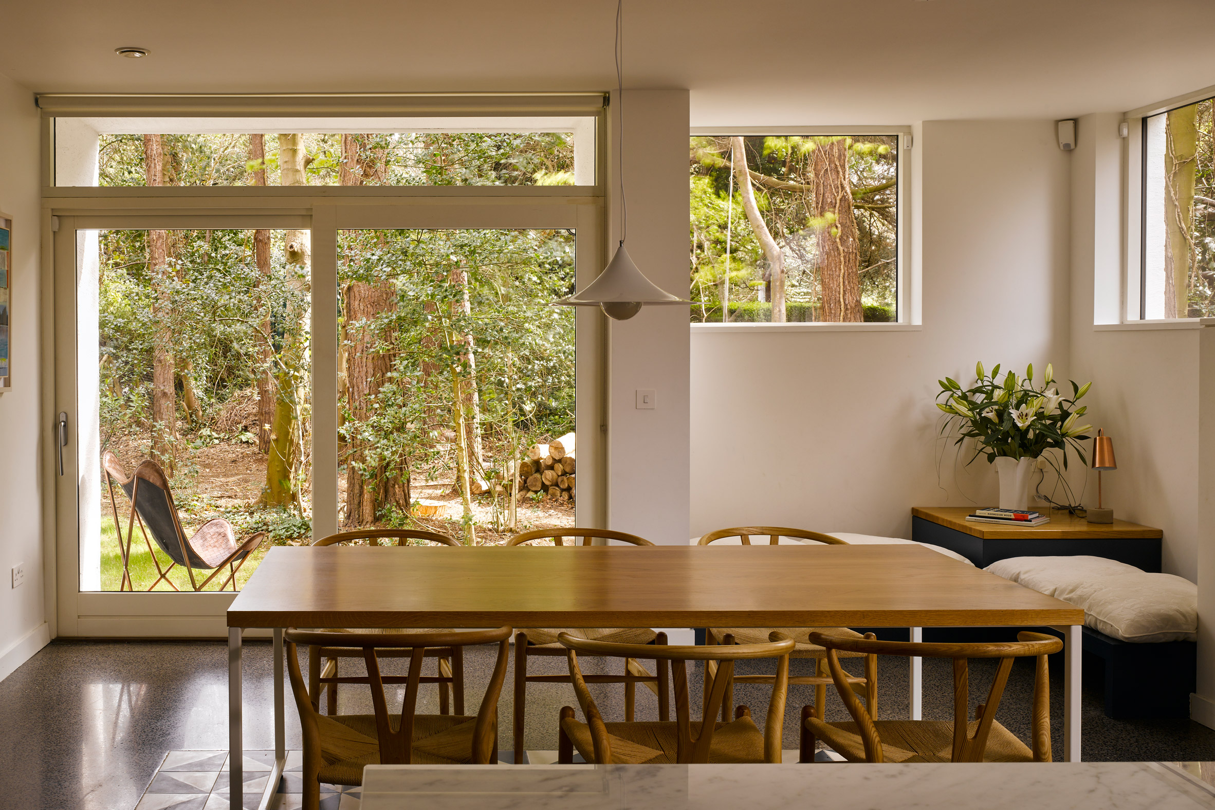 House in the Woods by Arigho Larmour Wheeler Architects