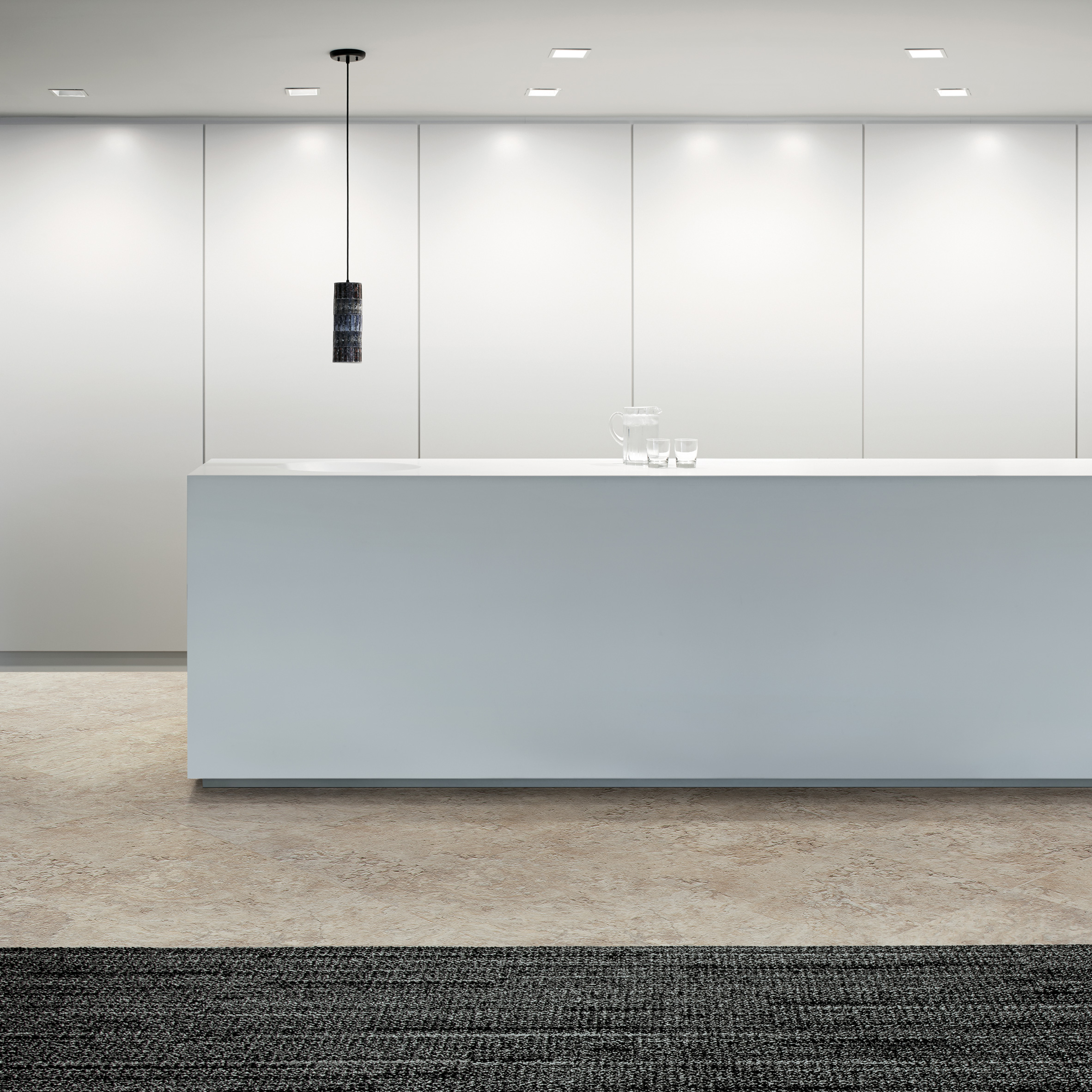 Architecture and design with tiles dezeen interface launches flooring collection that can be used to create zones in open plan spaces dailygadgetfo Images