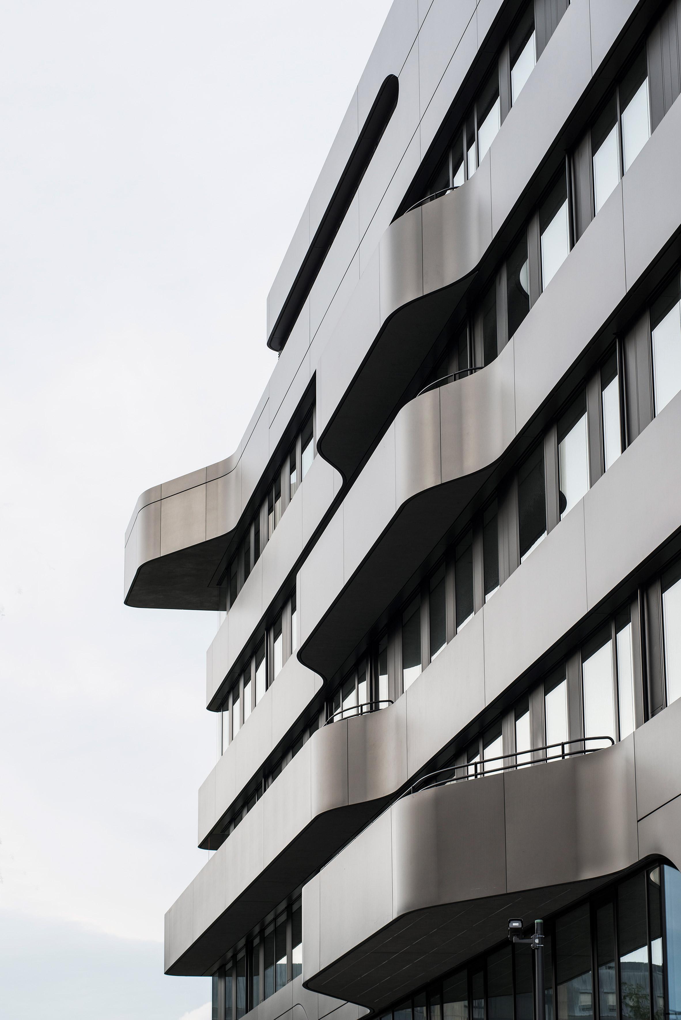 FOM Hochschule building by Jürgen Mayer H