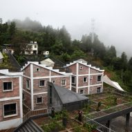 Rural Urban Framework builds post-disaster housing in China featuring rooftop farms
