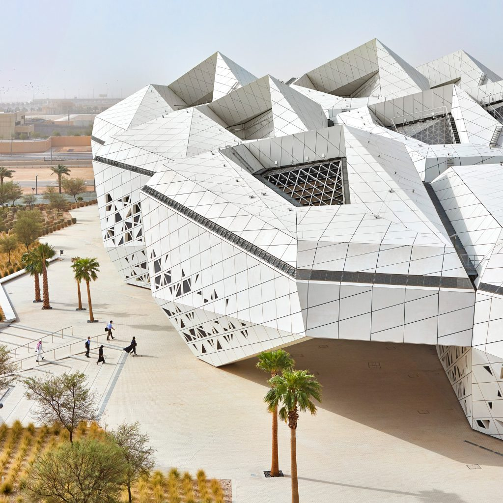 Zaha Hadid Architects reveals honeycomb-like oil research centre in Riyadh