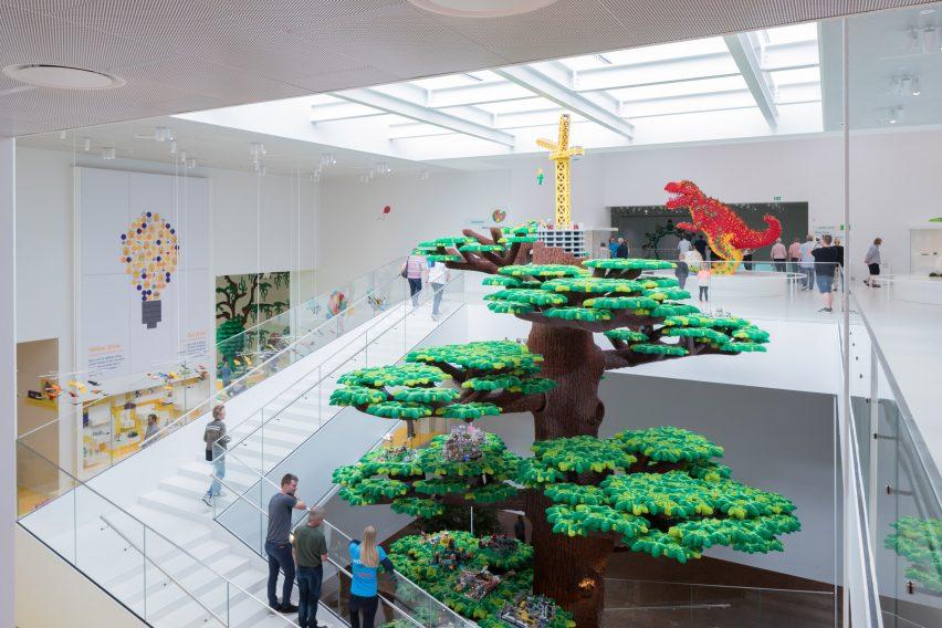 BIG completes Lego visitor centre shaped like children's building bricks