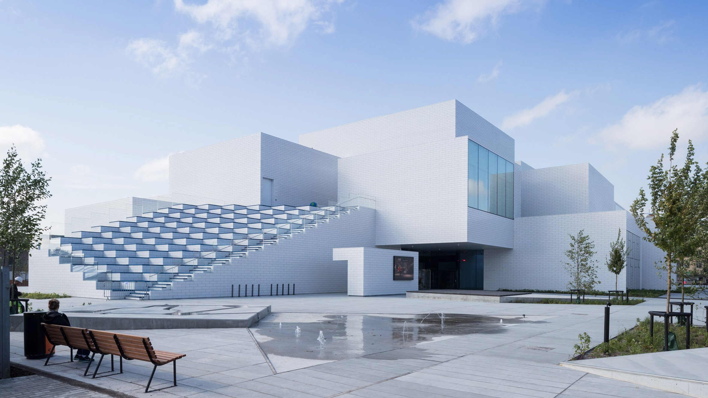BIG completes Lego visitor centre shaped like a stack of building blocks