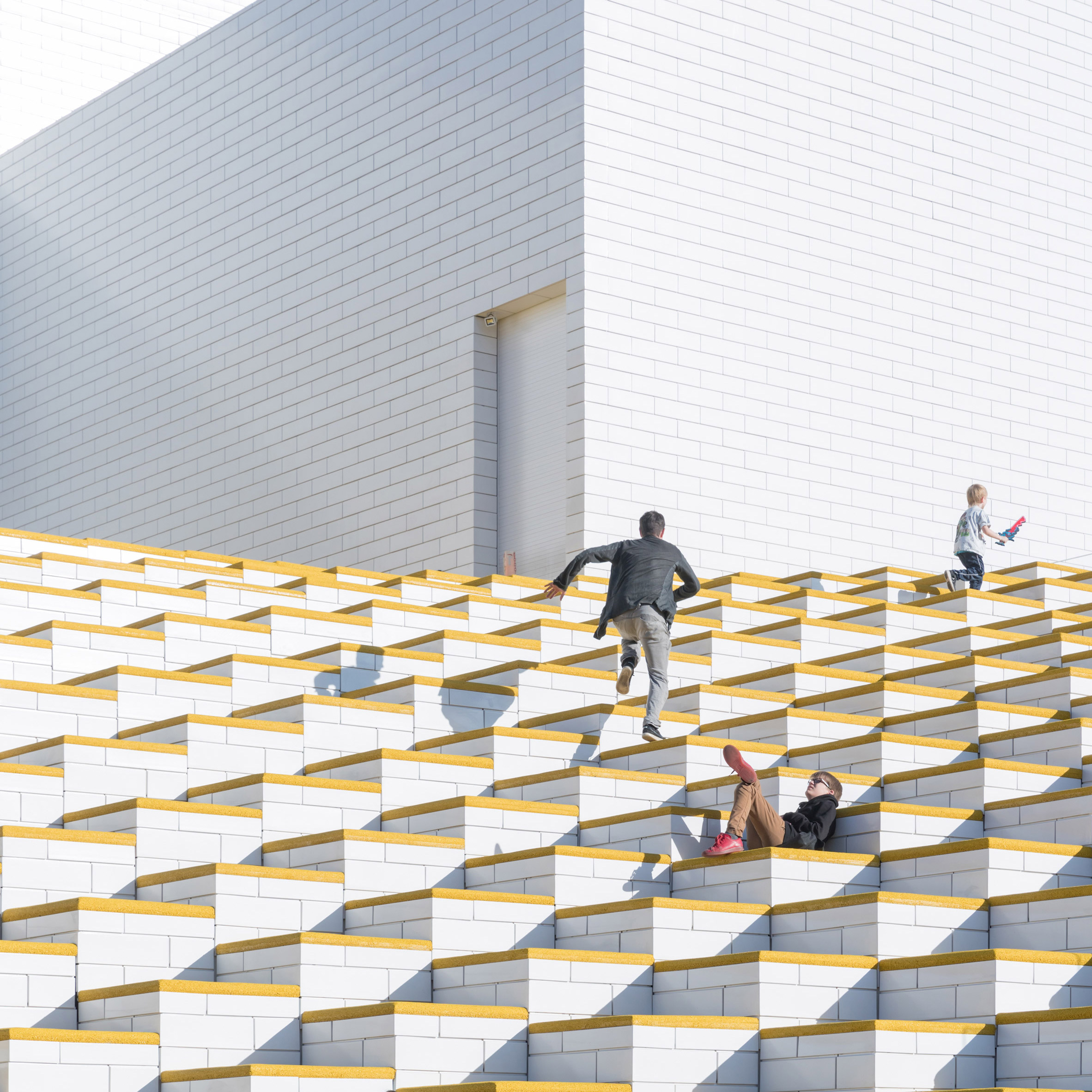 Big Completes Lego Visitor Centre Shaped Like Childrens Building Bricks