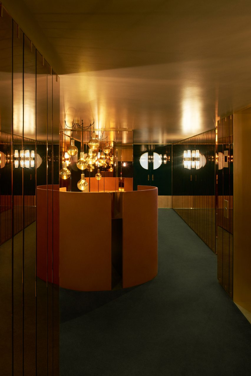 Leo's supperclub at The Art's Club, Mayfair by Dimore Studio