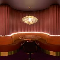 Dimore Studio uses velvet, brass and marble for opulent London supper club