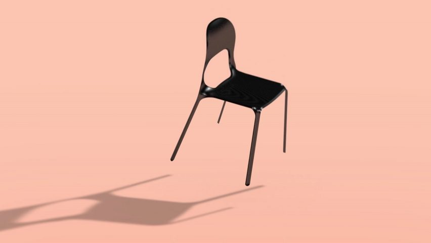 ECAL graduate Thomas Missé has designed a carbon fibre chair for life on mars