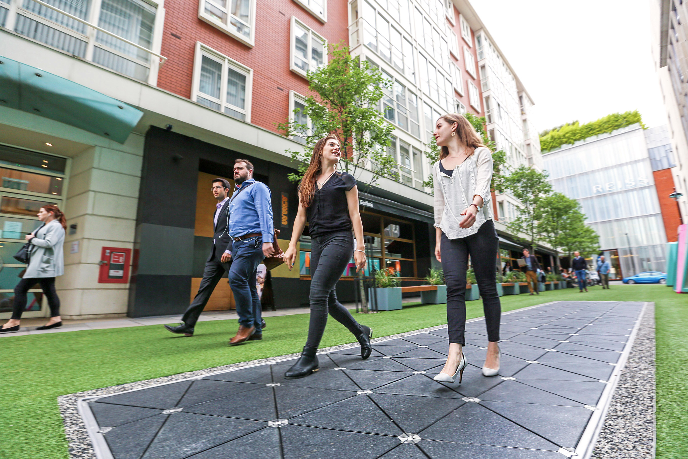 Pavegen's floor tiles could power future cities with footsteps