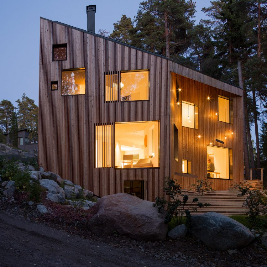 Ortraum Architects Builds Forest Home In Finland With A