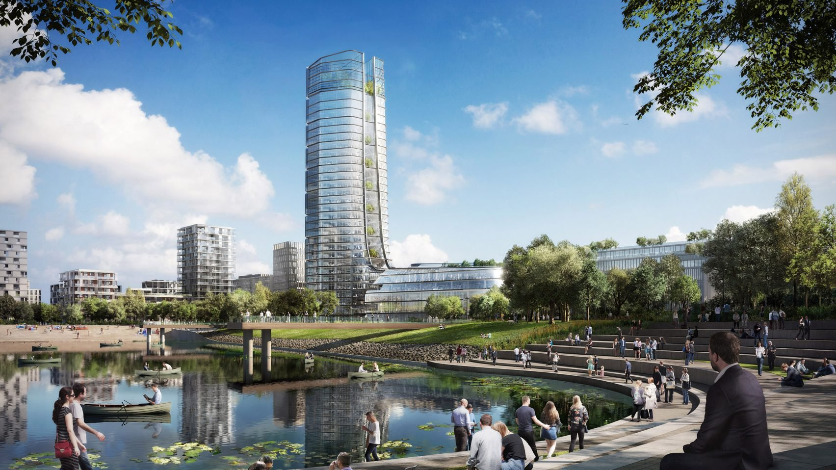Foster + Partners' Budapest tower will be built despite city's new skyscraper ban
