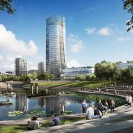 Foster + Partners unveils plans for Budapest's tallest building