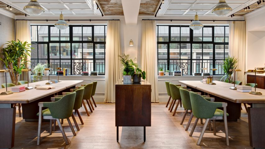 avroko create art deco inspired interiors for london members club