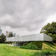 OMA reveals amphitheatre-like MPavilion complete with rotating grandstand
