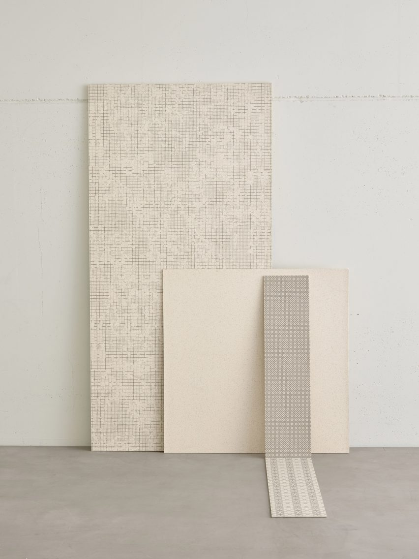 Mutina releases new personalised ceramic slab collection by Patricia Urquiola