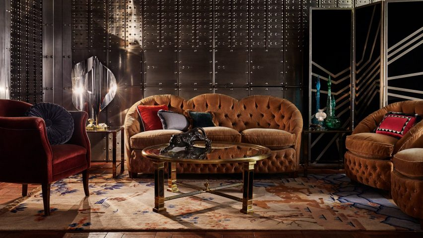 acccbfc2725bf 10 opulent interiors that spurn minimalism for rich colours and textures