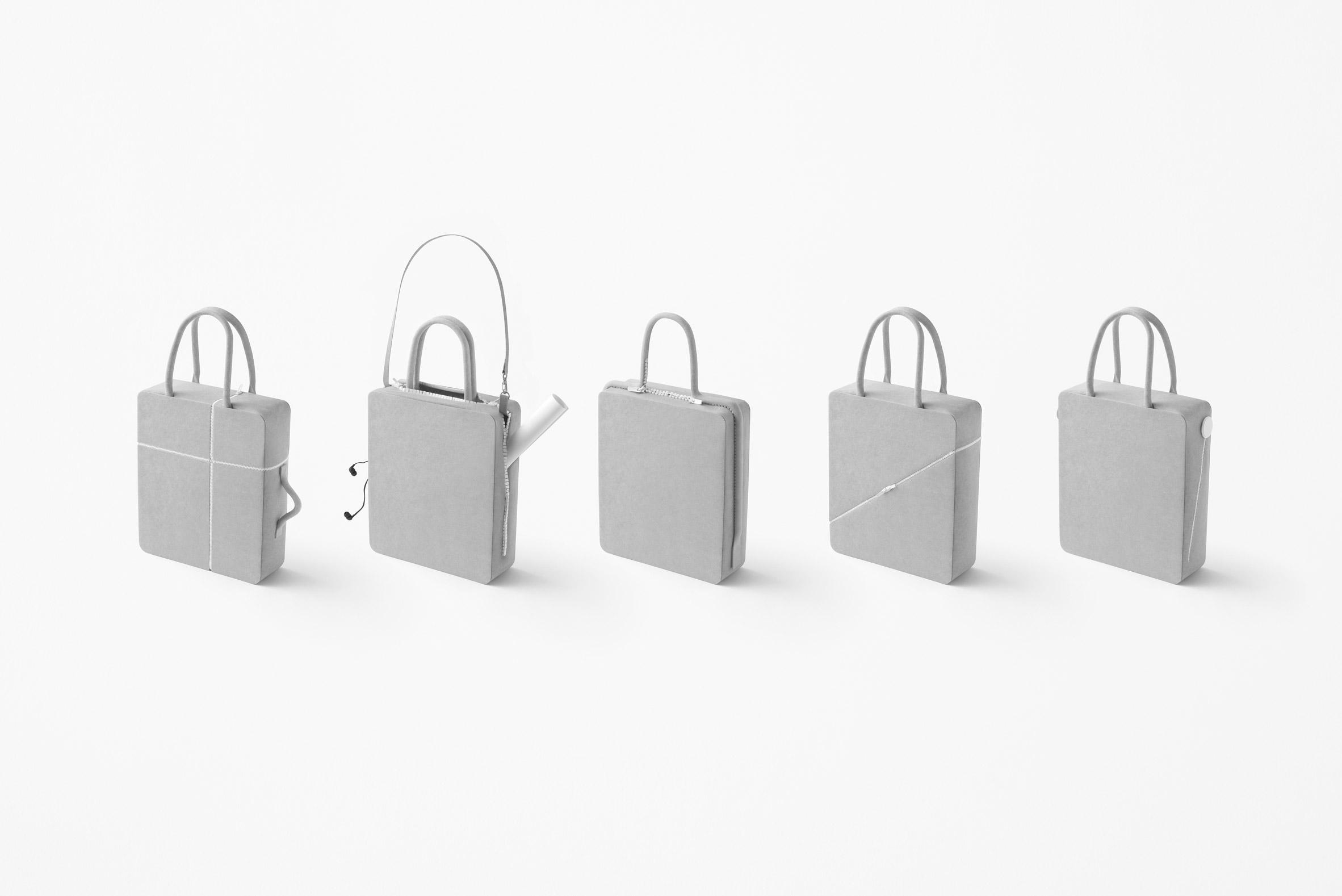 Nendo designs five alternatives to the standard zipper
