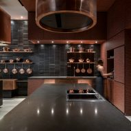 """Hong Kong apartment tower targets """"urban bohemians"""" with community kitchen and alfresco dining"""
