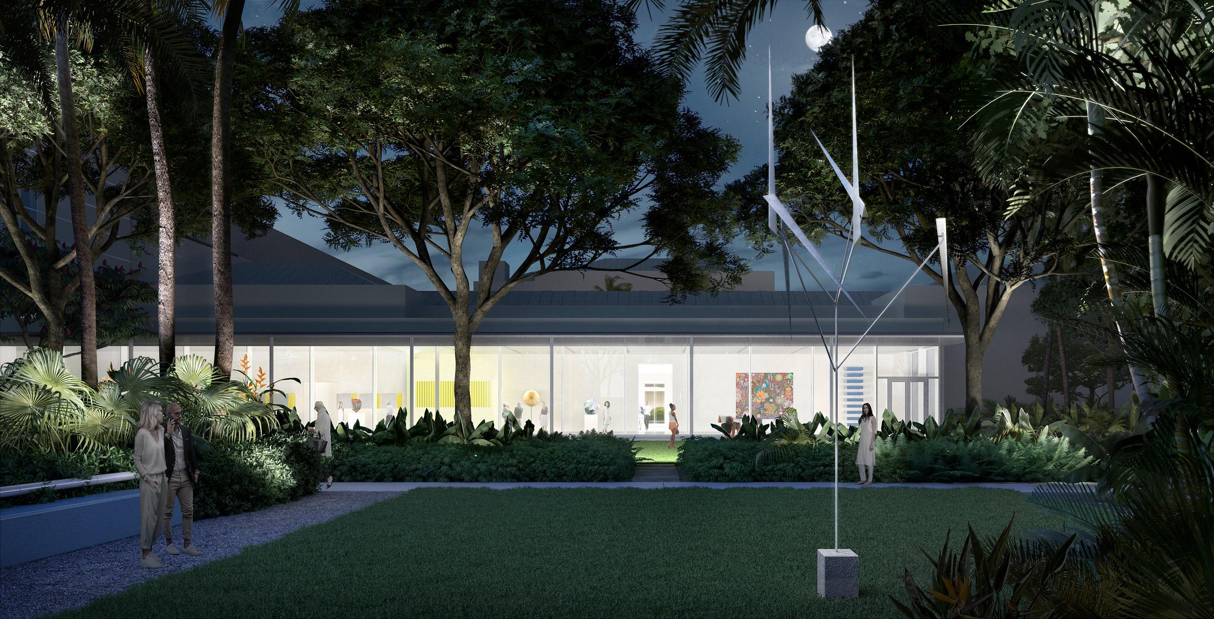 Foster reveals botanic sculpture garden for Florida's Norton Museum of Art