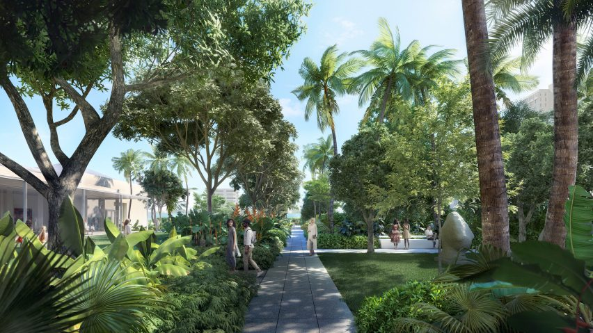 Foster Reveals Botanic Sculpture Garden For Floridau0027s Norton Museum Of Art