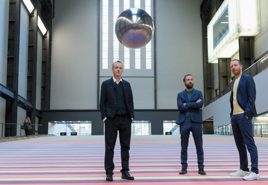Superflex install dozens of swings at Tate Modern to combat social apathy