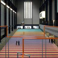 "Superflex installs dozens of swings at Tate Modern to ""combat social apathy"""