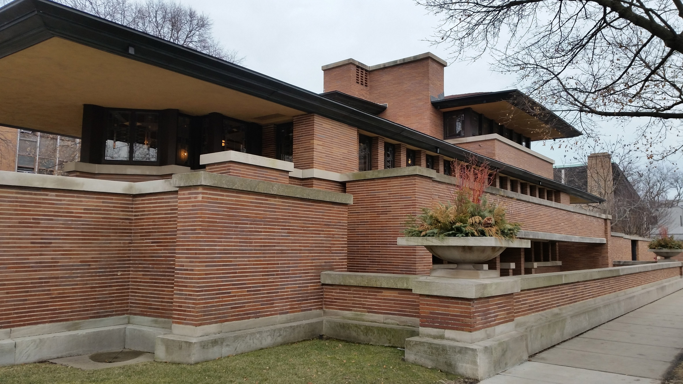 Frederick C Robie House for Open House Chicago