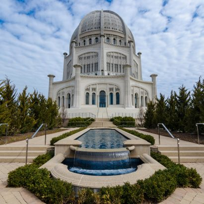 Bahá'í House of Worship by Louis Bourgeois, Chicago