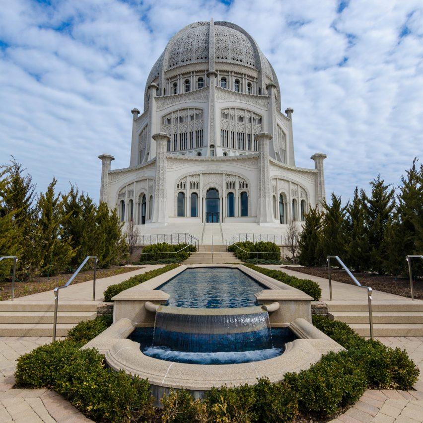 Bahá'í House of Worship by Louis Bourgeois, Chicago
