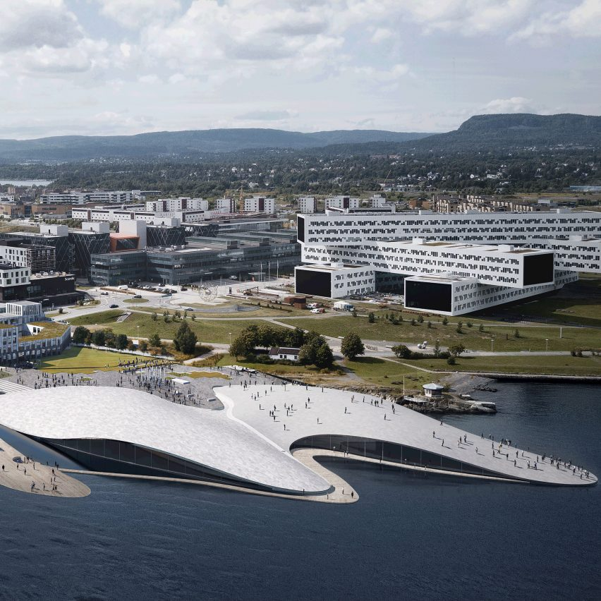Haptic architects unveils plans for domed aquarium on for Designhotel oslo