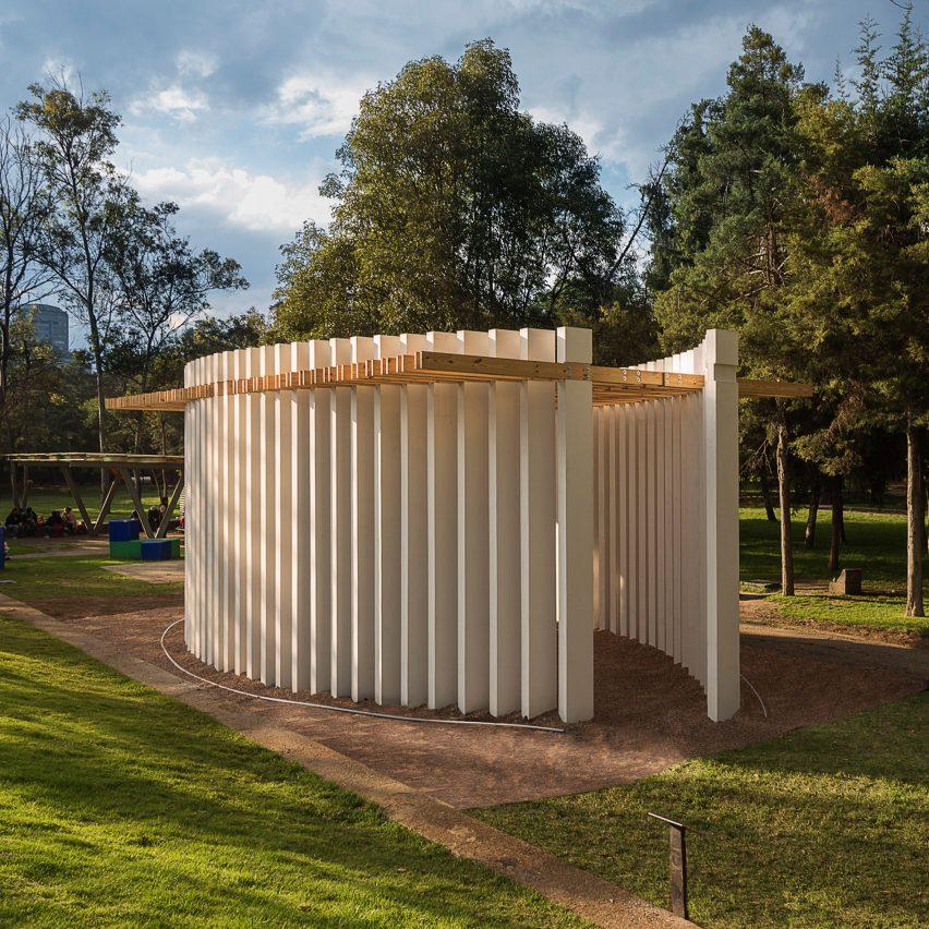 Parteluz Pavilion by Materia