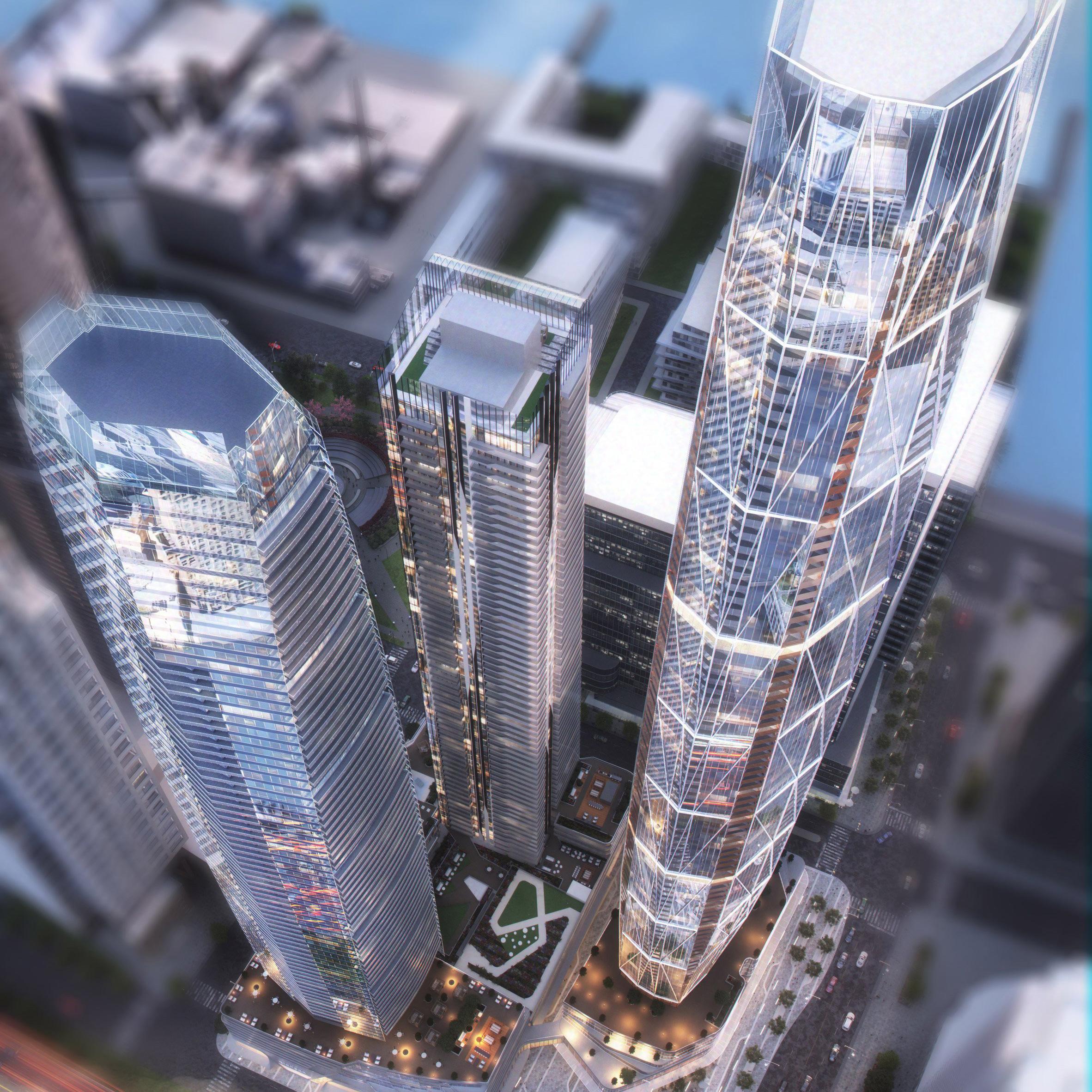 This week, Toronto and Frankfurt announced major urban developments