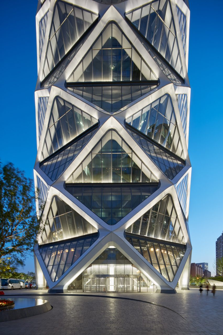 Poly International Plaza in Beijing by SOM Architects