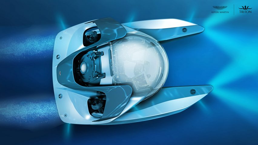 Aston Martin and Triton design submarine