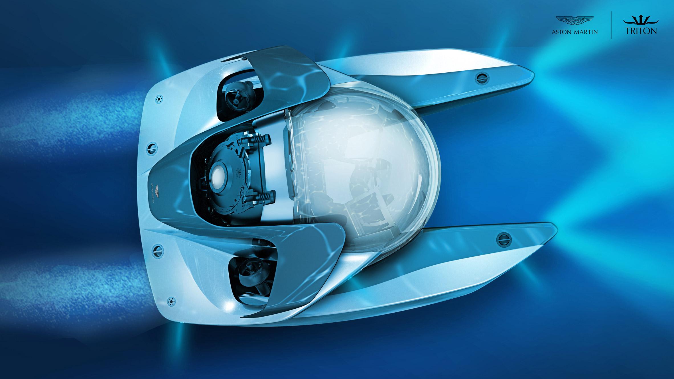 Aston Martin reveals plans for $4 million luxury submarine