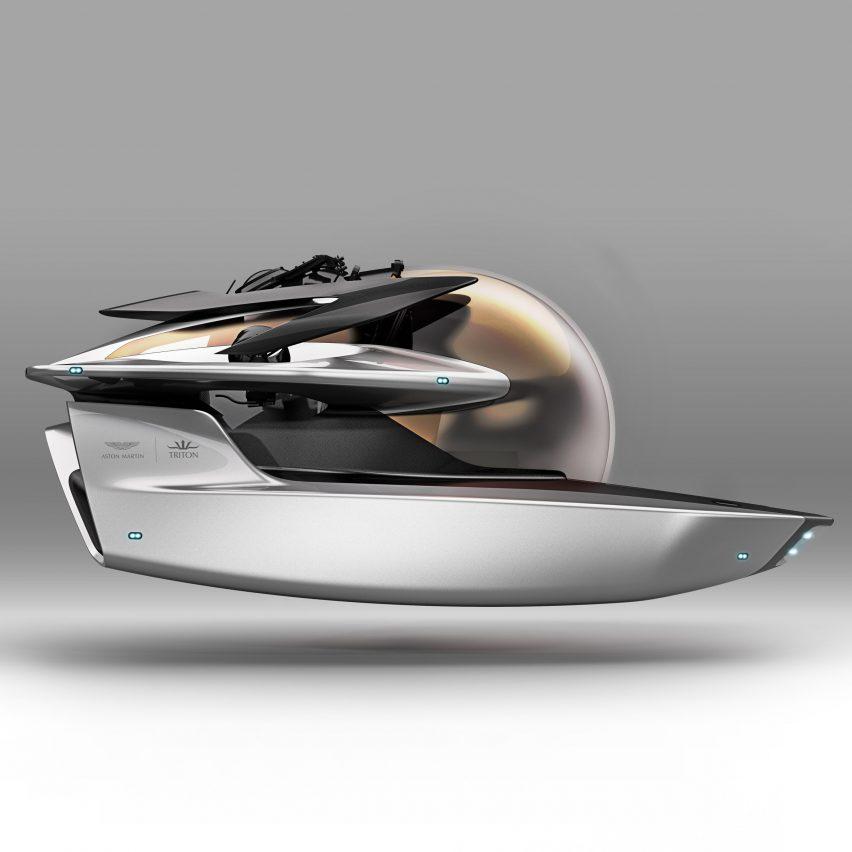 Aston Martin and Triton design submarine