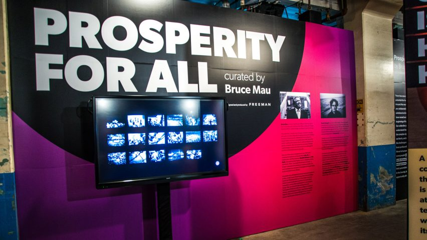 Prosperity for All by Bruce Mau at EDIT