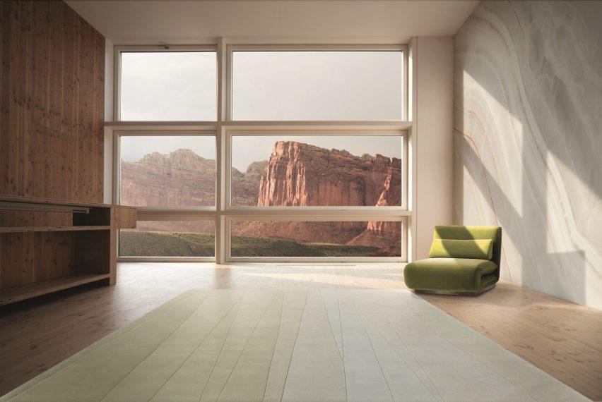 Reverence rug collection by Fernando Mastrangelo