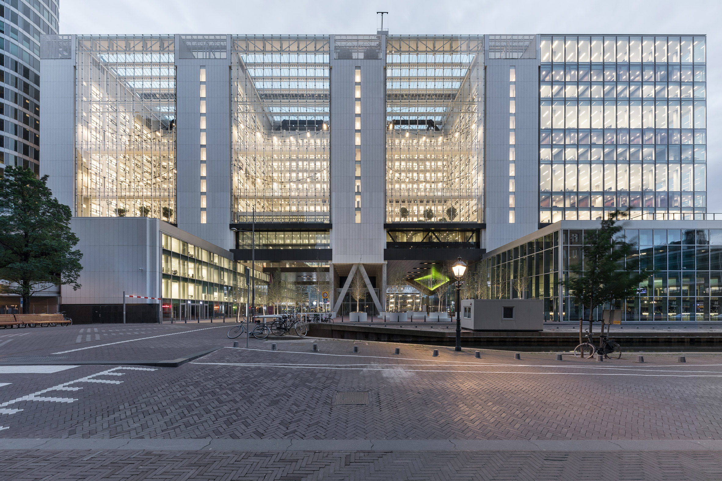 "OMA explores ""new ways of working"" with remodelled government offices in The Hague"