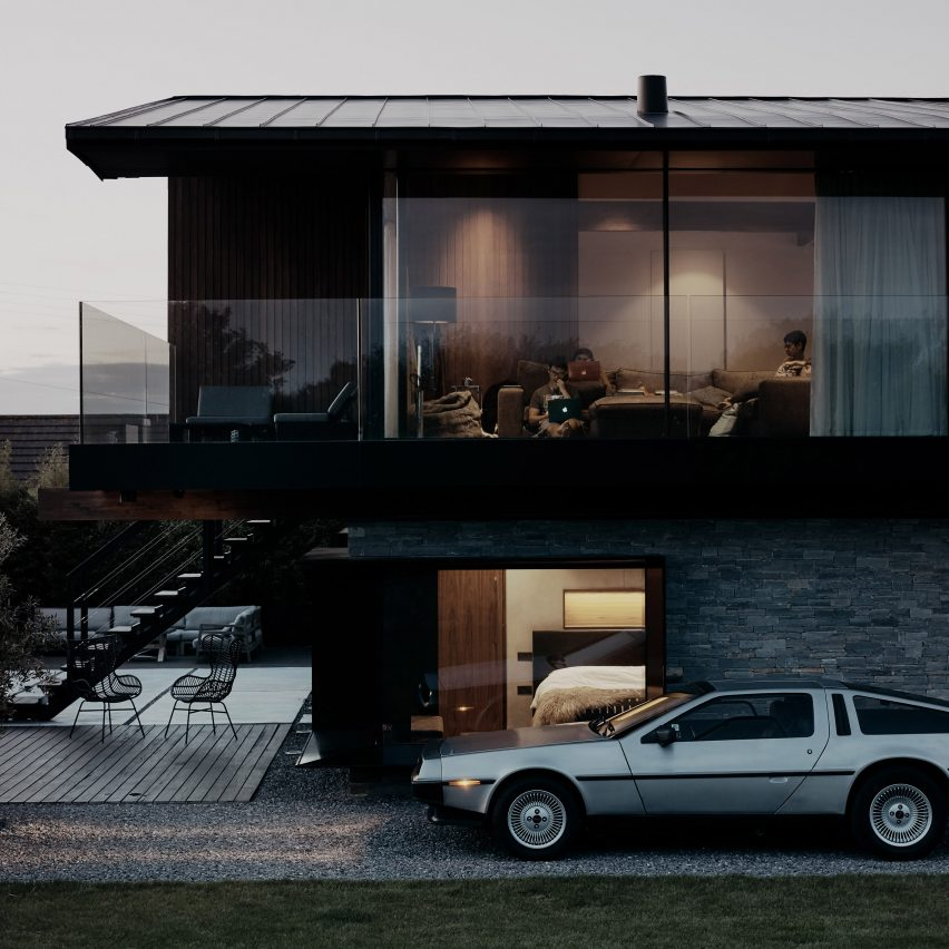 Silver House by Hyde + Hyde in Wales.