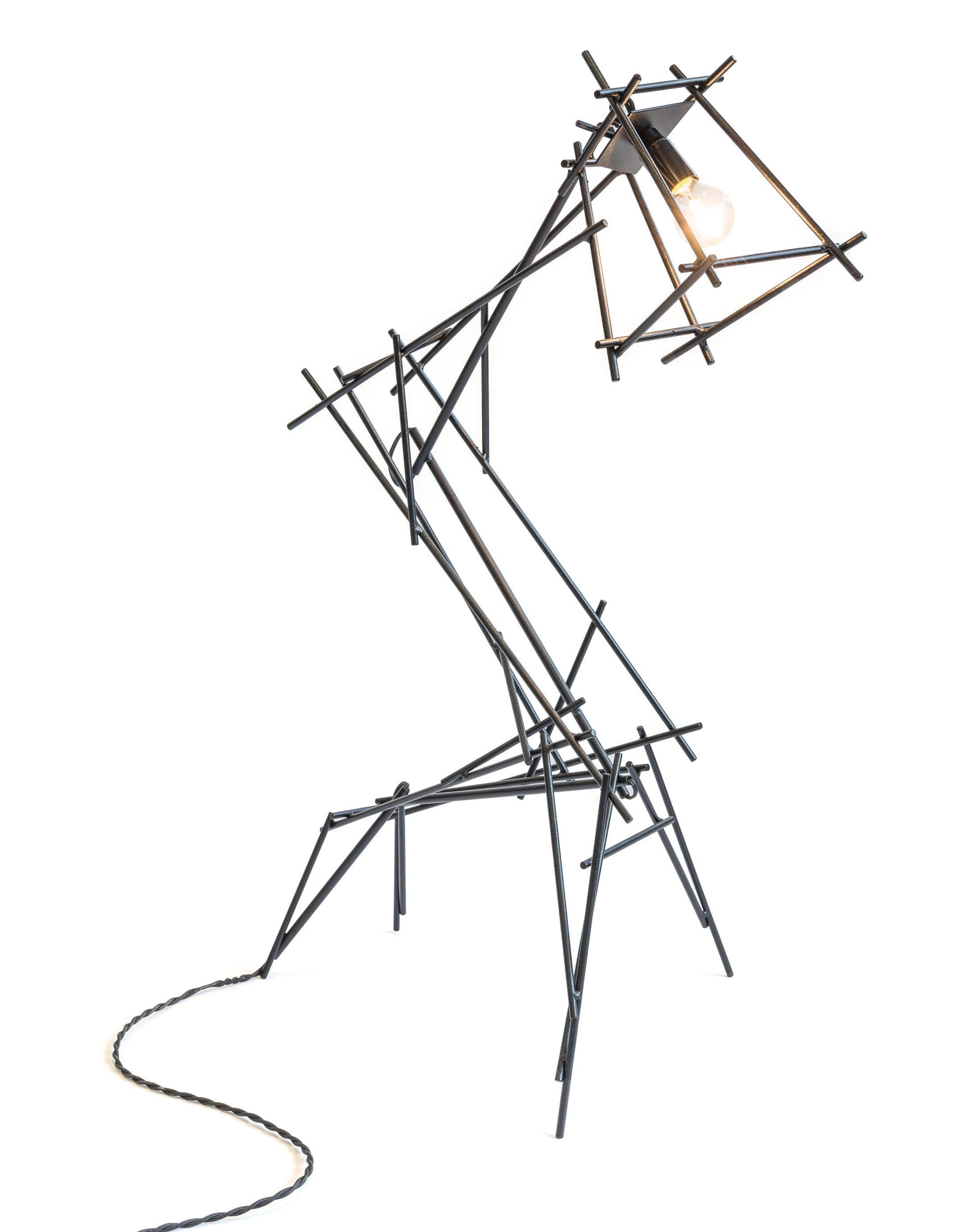 Joost van Bleiswijk designs furniture and lighting to look like his paintings