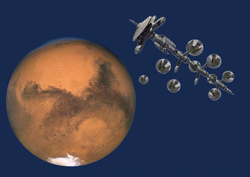 Stefano Boeri Vertical Forests on Mars