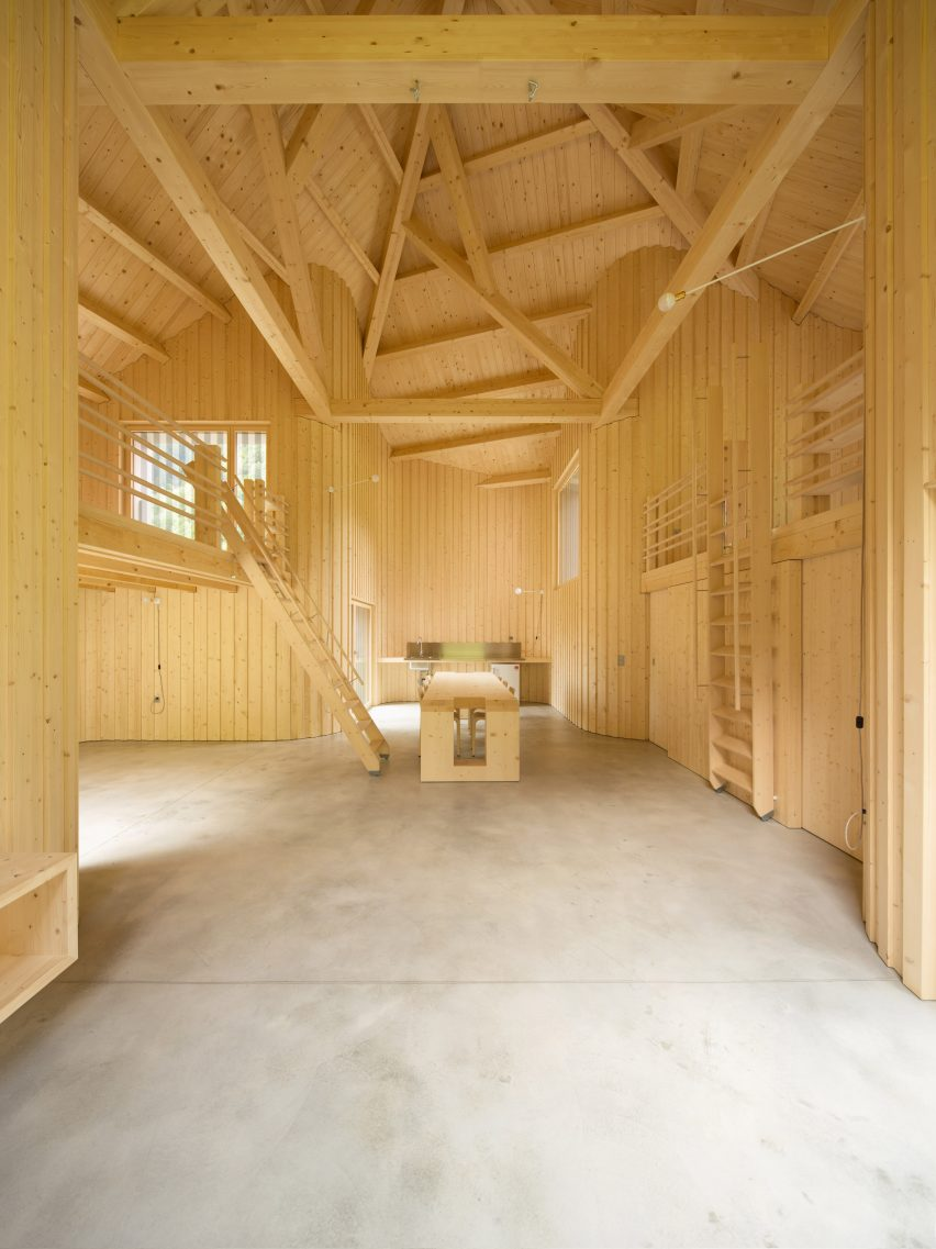 Davide Macullo Architects Swisshouse Rossa