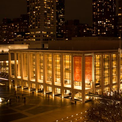 David Geffen Hall at Lincoln Center, New York