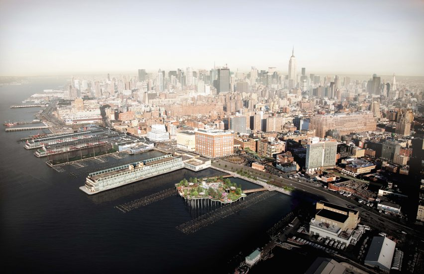 After Cuomo intervenes, Pier 55's floating park is back on
