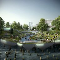 """Barry Diller launches """"one last attempt"""" to revive Heatherwick's Pier 55 for New York"""